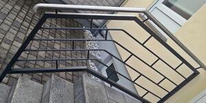 Treppengeländer aus Metall