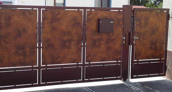 hoftore von der schlosserei steinbrecher mit qualit t und stil. Black Bedroom Furniture Sets. Home Design Ideas